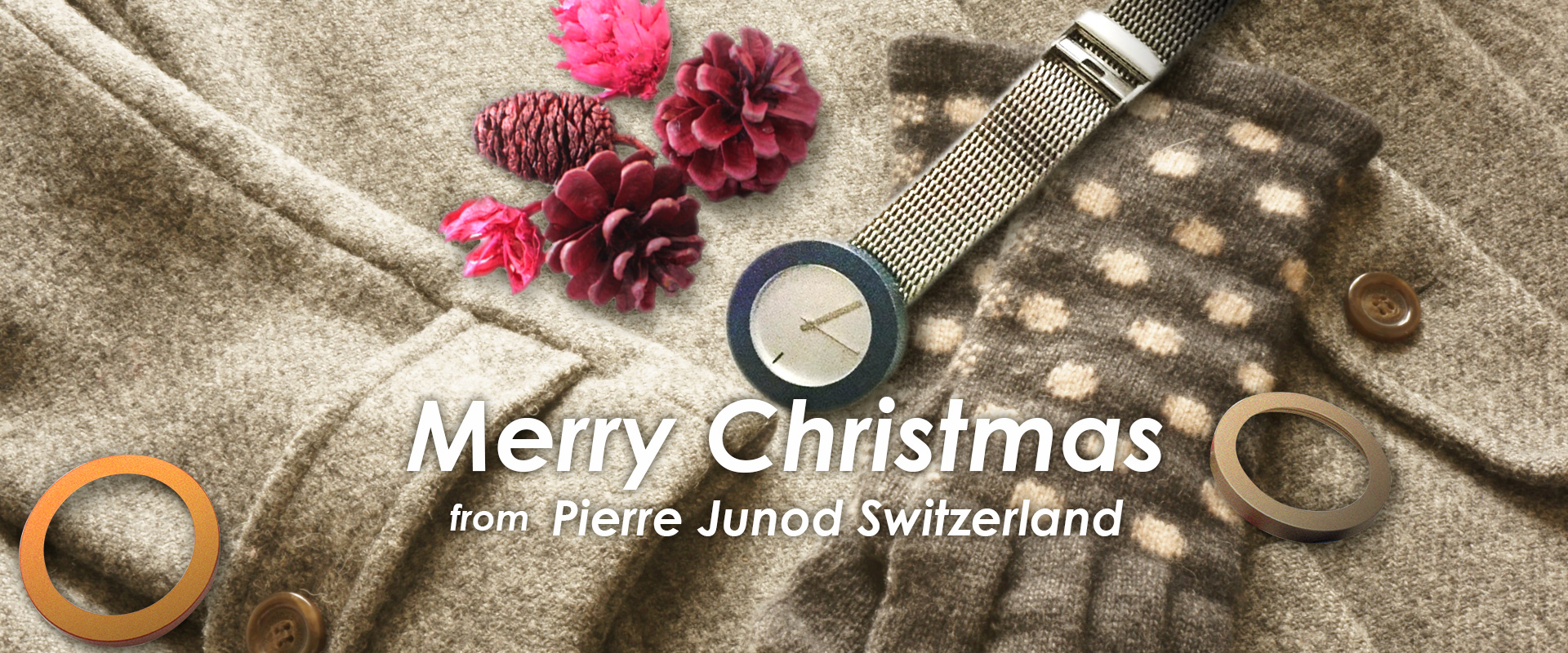 クリスマスプレゼント:PIERRE JUNOD